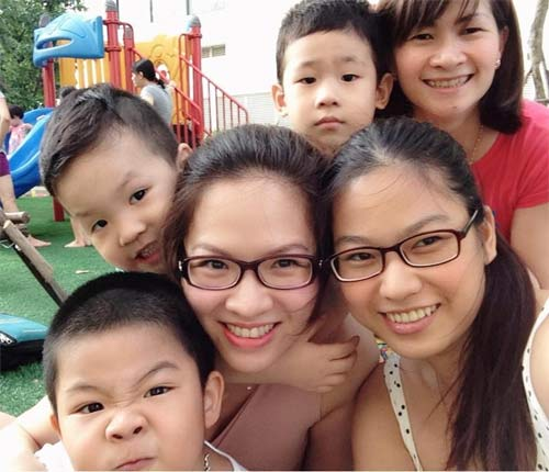 "con trai dan le ngo nghinh lam ""canh sat giao thong"" - 5"
