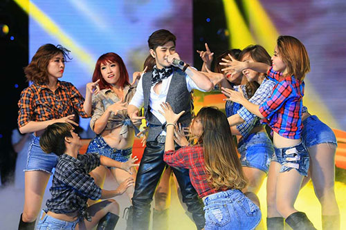 """ho quynh huong khong con """"manh mieng"""" tai x-factor - 3"""