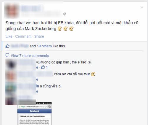 hang loat facebooker 'dung hinh' vi thong bao khoa tai khoan - 2