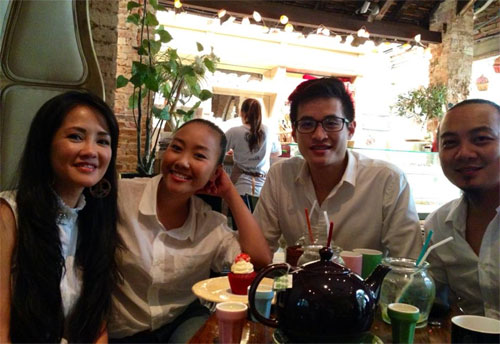 xuan lan hanh phuc don sinh nhat ben con gai - 15