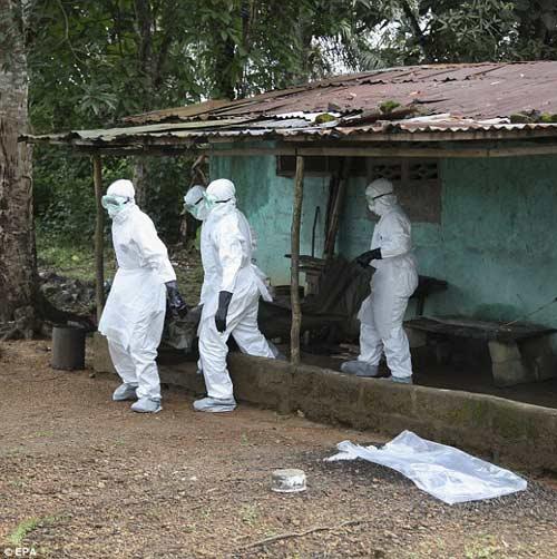 nhung hinh anh dau thuong tu vung tam dich ebola - 4