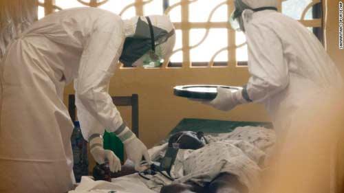 nhung hinh anh dau thuong tu vung tam dich ebola - 5