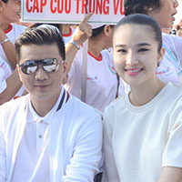 Cao Thùy Dương chi nửa tỷ đồng làm từ thiện