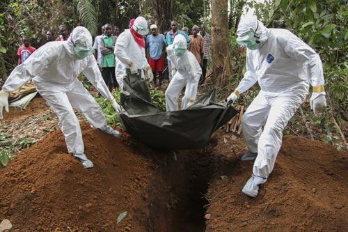"""khung bo bang """"bom ban"""" ebola: ac mong toan cau? - 1"""