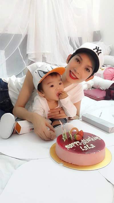 xuan lan hanh phuc don sinh nhat ben con gai - 2