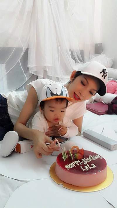 xuan lan hanh phuc don sinh nhat ben con gai - 1
