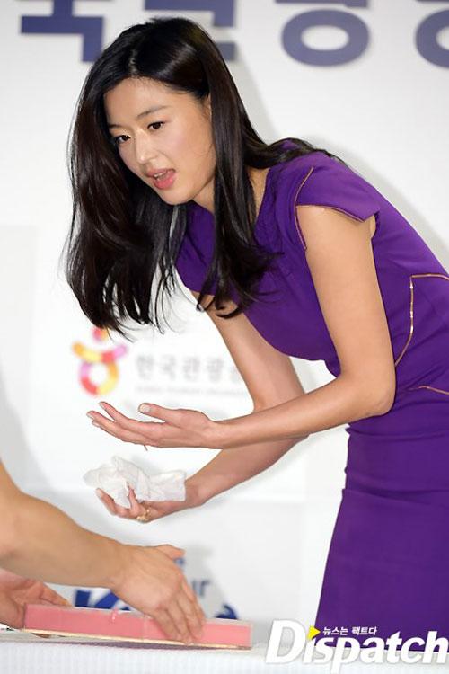 jeon ji hyun lam dai su du lich han quoc - 7
