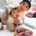 Làng sao - Xuân Lan hạnh phúc đón sinh nhật bên con gái