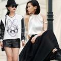 Thời trang - Trắng và đen là cách mặc đẹp đơn giản nhất