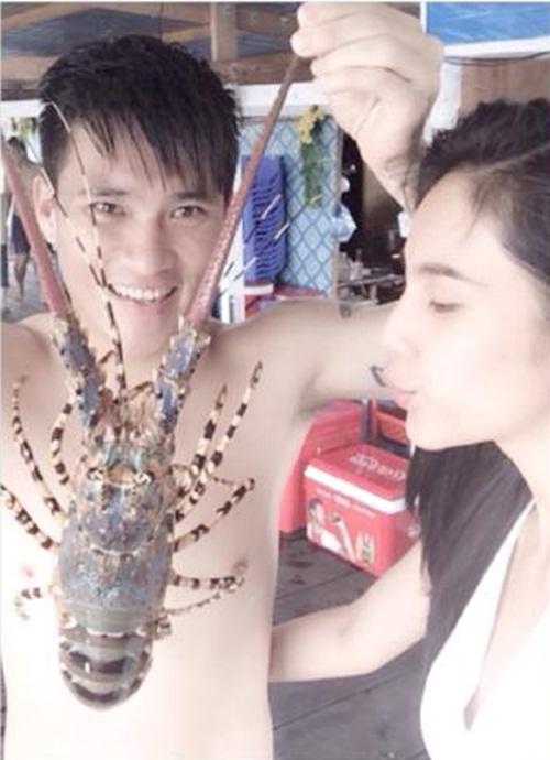 thuy tien - cong vinh khoe kheo con gai cung - 2