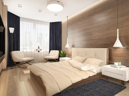 Nội thất như mơ của căn hộ 3 phòng ngủ - 12