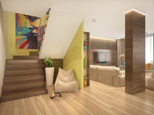 Nội thất như mơ của căn hộ 3 phòng ngủ - 3