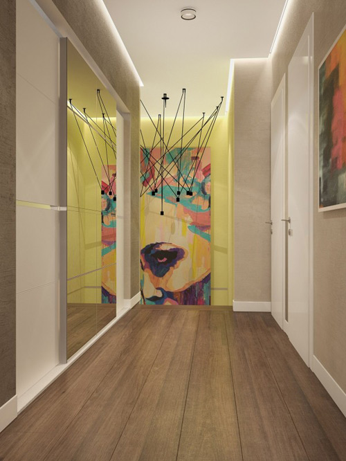 Nội thất như mơ của căn hộ 3 phòng ngủ - 6