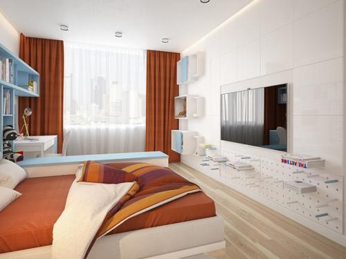 Nội thất như mơ của căn hộ 3 phòng ngủ - 7