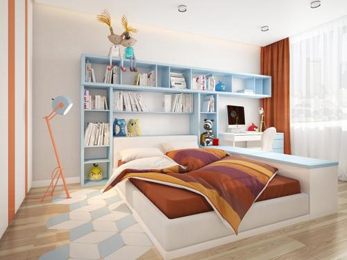 Nội thất như mơ của căn hộ 3 phòng ngủ - 8