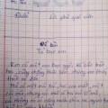 Tin tức - Bài văn tả bạn gái bị cô giáo trả về chấn động mạng