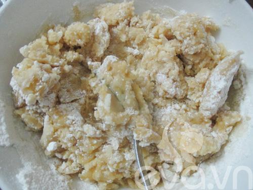 Bánh Trung thu trà xanh nhân đậu xanh - 5