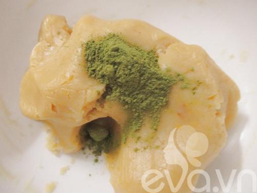 Bánh Trung thu trà xanh nhân đậu xanh - 7