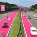 Tin tức - Làn xe màu hồng dành riêng cho phụ nữ ở Anh
