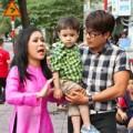 Làng sao - Con nuôi Việt Hương càng lớn càng đẹp trai