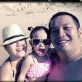 Làng sao - Phạm Quỳnh Anh hạnh phúc bên chồng con trên biển