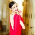 Làng sao - Trương Tùng Lan khoe lưng trần gợi cảm
