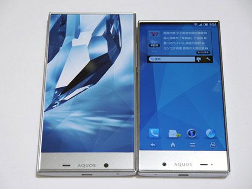bo doi smartphone khong vien man hinh tu sharp - 7