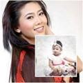 Làng sao - DV Mai Phương khoe con gái 1 tuổi đáng yêu