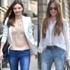 Thời trang - Diện quần jeans chuẩn mực tới công sở