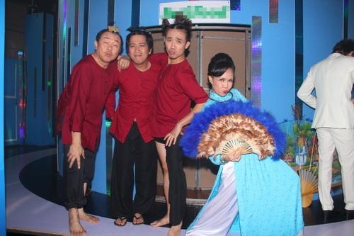 """tran thanh """"dai nao"""" ben viet huong, hoai linh - 6"""