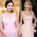 Thời trang - Ngọc Hân diện váy giống Taylor Swift