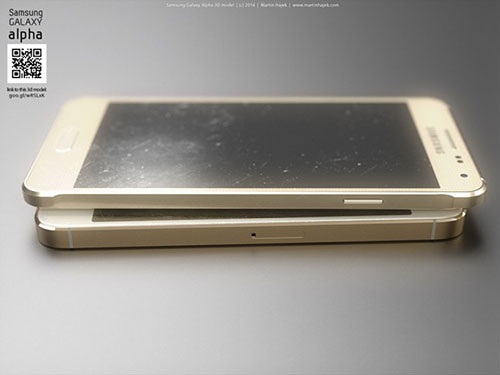 iphone 6 va galaxy alpha vien kim loai do thiet ke - 7