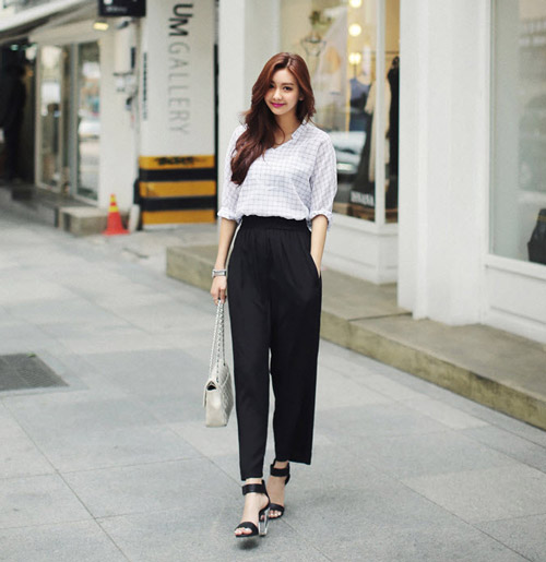 Kéo dài chân với quần palazzo đẹp như Thanh Hằng - 2