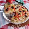 Bếp Eva - Cách nướng pizza bằng chảo siêu ngon
