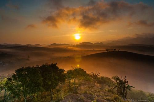 Vẻ đẹp mê hoặc của Mộc Châu trong sương sớm - 2