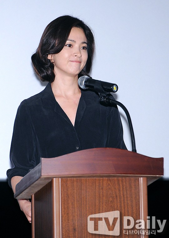 song hye kyo lan dau xuat hien sau scandal tron thue - 3