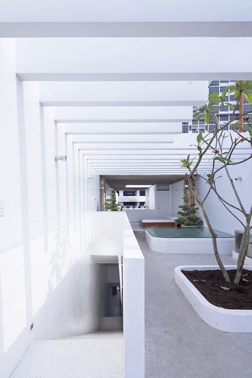 Ngưỡng mộ nhà ống Sài Gòn 'hút' sáng ngập nhà-12