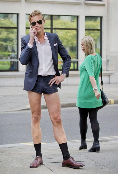 London: Nam công sở mặc quần chẽn đi làm-5
