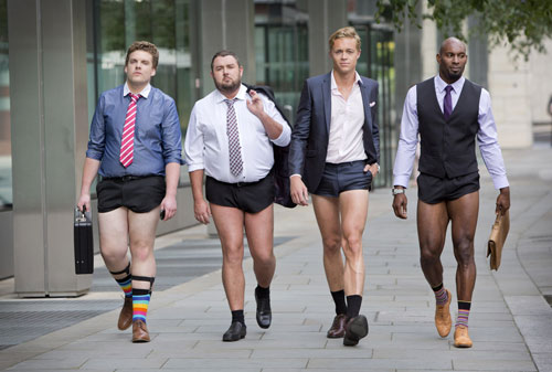 London: Nam công sở mặc quần chẽn đi làm-3
