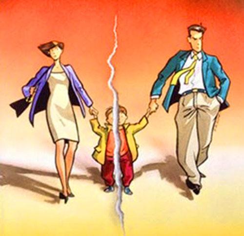 Cha mẹ ly hôn, con có được chia tài sản không?