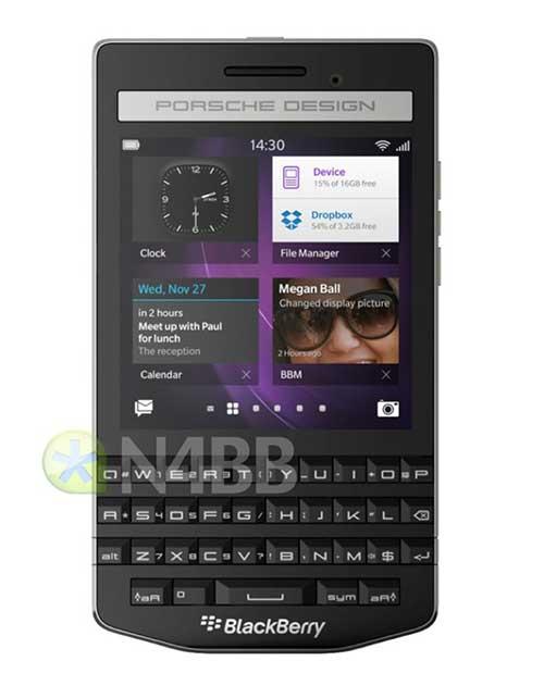 lo dien blackberry porsche design sieu sang gia 2000 usd - 3