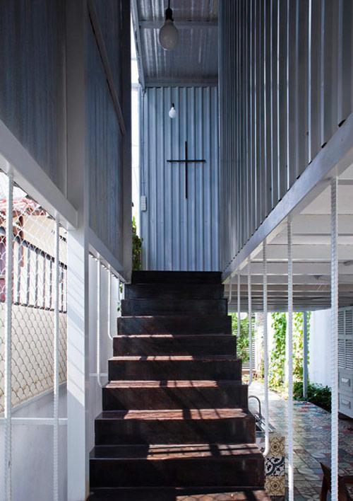Ngắm 40m2 nhà 2 tầng giá rẻ 'nổi trội' ở Bình Dương-9
