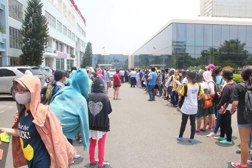Hàng trăm fan Việt