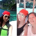 Làng sao - Ngọc Quyên trẻ trung bên mẹ ở Phuket