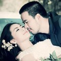 """Làng sao - Lộ ảnh cưới của """"kiều nữ"""" Ngọc Lan và Đoàn Thanh Tài"""