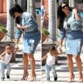 """Làng sao - Con gái Kim Kardashian như """"cây nấm"""" đáng yêu"""