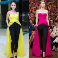 """Thời trang - Yến Trang đẳng cấp với váy """"nhái"""" Dior"""