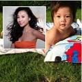 Làng sao - Con gái Đoan Trang đóng bỉm...tắm nắng