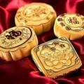 Chuyện lạ - Sốc với những chiếc bánh trung thu bằng vàng ròng
