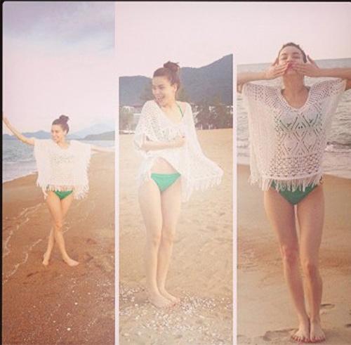 nhung gai mot con vbiz mac bikini dep sung so - 11